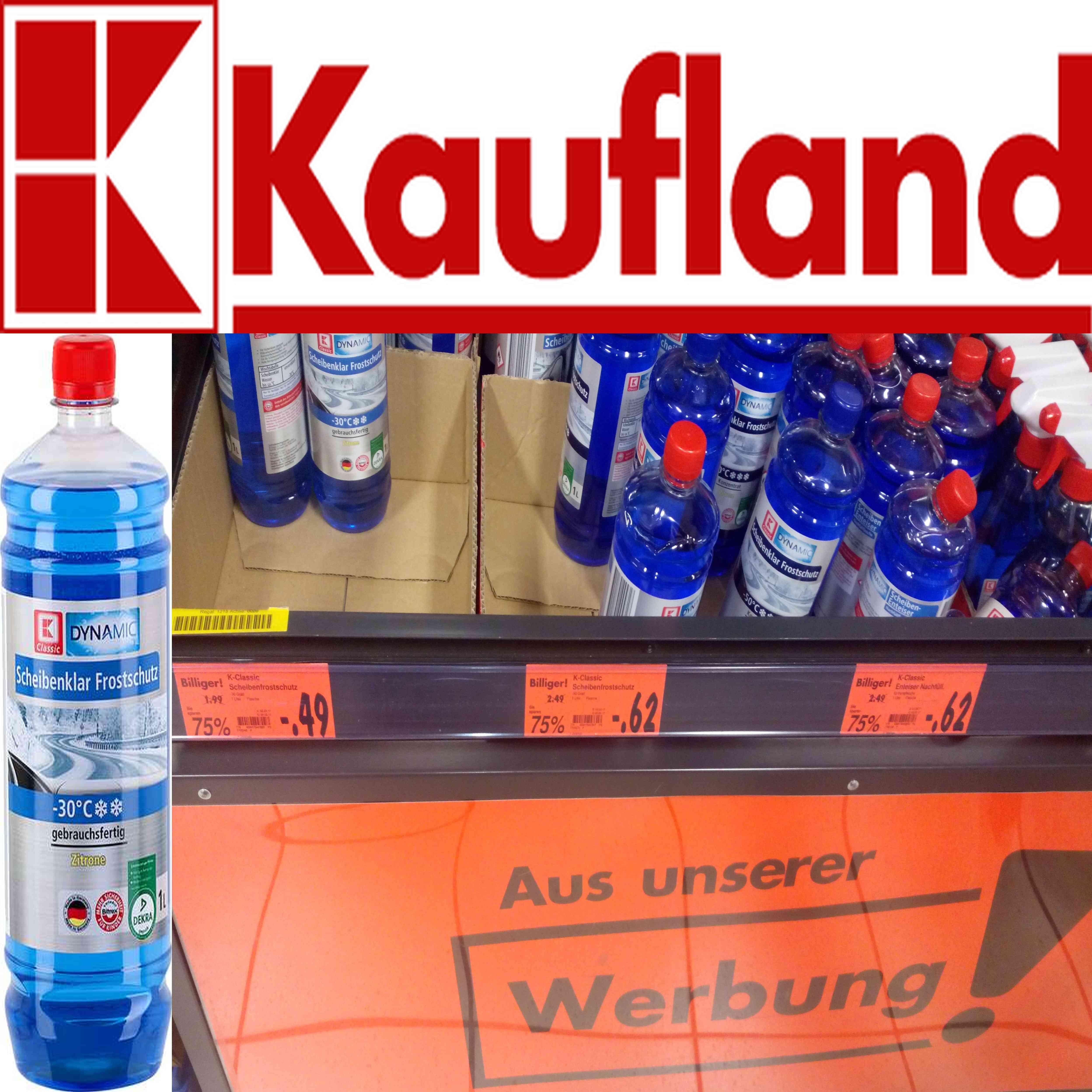 [Lokal HN] 1L Scheibenklar Frostschutz -30 °C @ Kaufland Sttg.-Str.