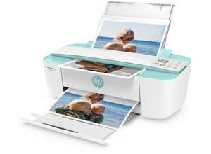 HP DeskJet 3730 All-in-One Drucker (Drucker, Kopierer, Scanner, Airprint, ePrint, WLAN, USB) Türkis oder Rot für 47,71€ im HP Education Store