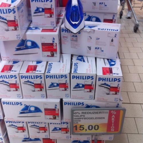 [Rewe lokal] Dampfbügeleisen Philips