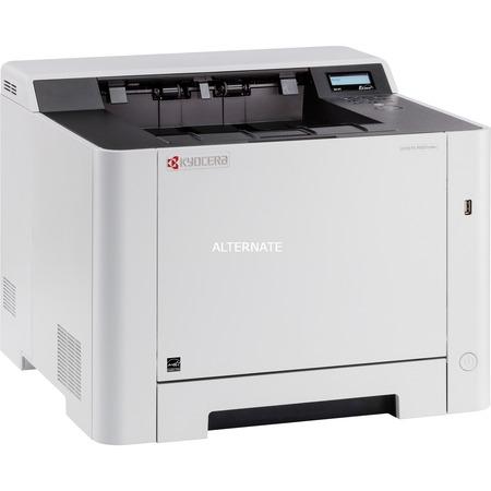 "Kyocera Farblaserdrucker ""ECOSYS P5021CDW"" (USB/LAN/WLAN) für 159,85€ @ ZackZack"