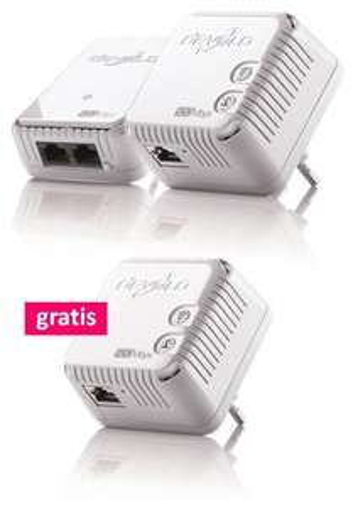 [tink] 41% Rabatt - devolo 500 Wifi Starter Kit + Gratis 500 Wifi Adapter