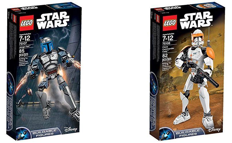 Lego™ - Star Wars: Jango Fett (75107) / Clone Commander Cody (75108) ab je €9,69 [@Lego.de]