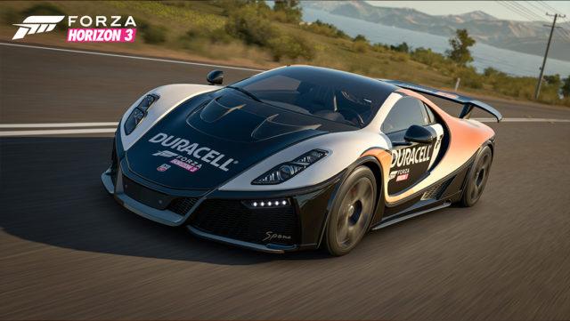 Forza Horizon 3: Duracell GTA Spano Sportwagen kostenlos (PC/Xbox One)