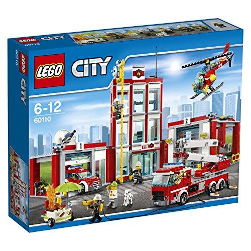 Lego City 60110 Feuerwehrstation Amazon.es