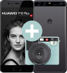 Huawai P10 Plus (5,5 Zoll) + Leica Sofort Kamera - Vodafone Smart L 2GB LTE Allnetflat & EU Roaming (Handyflash) 24x 34,99€ + 99,99€ Einmalzahlung