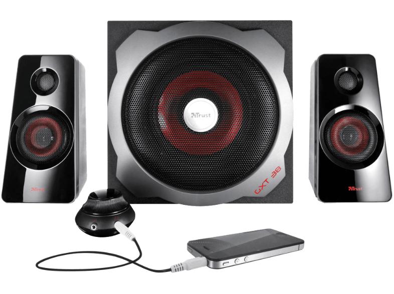 [Mediamarkt online] Trust GXT 38 2.1 Lautsprechersystem