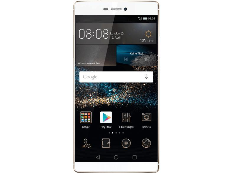 """Huawei P8: 5,2""""FHD IPS, Kirin 930 Octa-Core, 3 GB RAM, 16 GB (microSD), 13 MP Kamera, LTE, NFC, Android 6 für 209€ (Saturn)"""