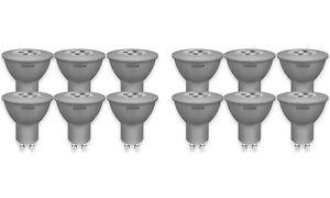 [ebay] 12x Stück OSRAM LED-Reflektorlampe GU10 Retrofit PAR16 / 4W - 35 Watt-Ersatz, LED-Spot / matt, warmweiß - 2700K, Energieklasse A+ für 21€ statt 29€