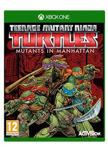 Teenage Mutant Ninja Turtles: Mutants in Manhattan (Xbox One) für 16,50€ inkl. VSK (Base.com)