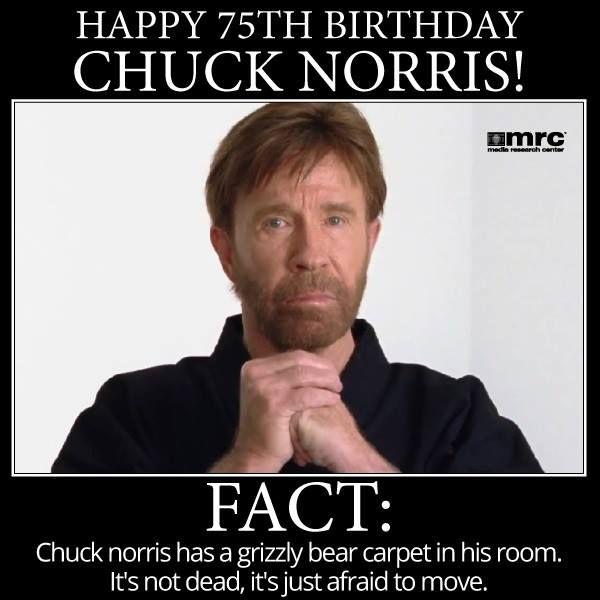 Chuck Norris wird 77 - Sonderpreise (z.B. Filme) bei Saturn + Gewinnspiel