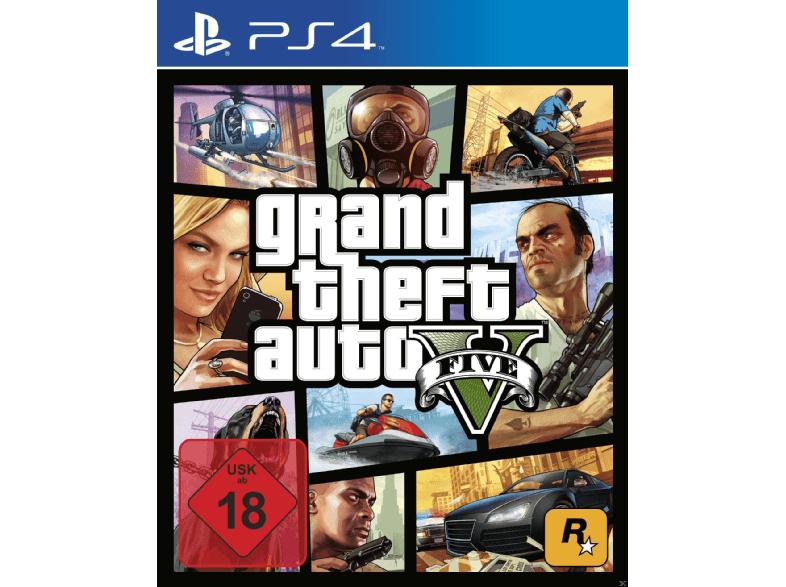 GTA 5 - Grand Theft Auto V - PlayStation 4 Xbox One im Saturn 27,99 inkl. Versand
