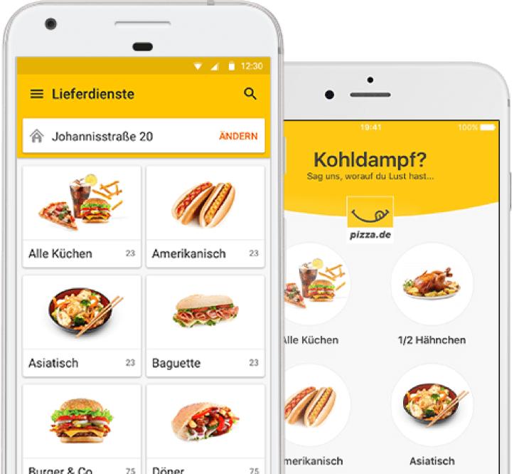5€ Pizza.de Gutschein! 10€ MBW - bis 14 Uhr per App
