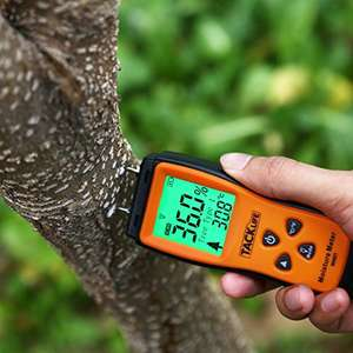 Messgerät für Feuchtigkeit  (mit LCD)