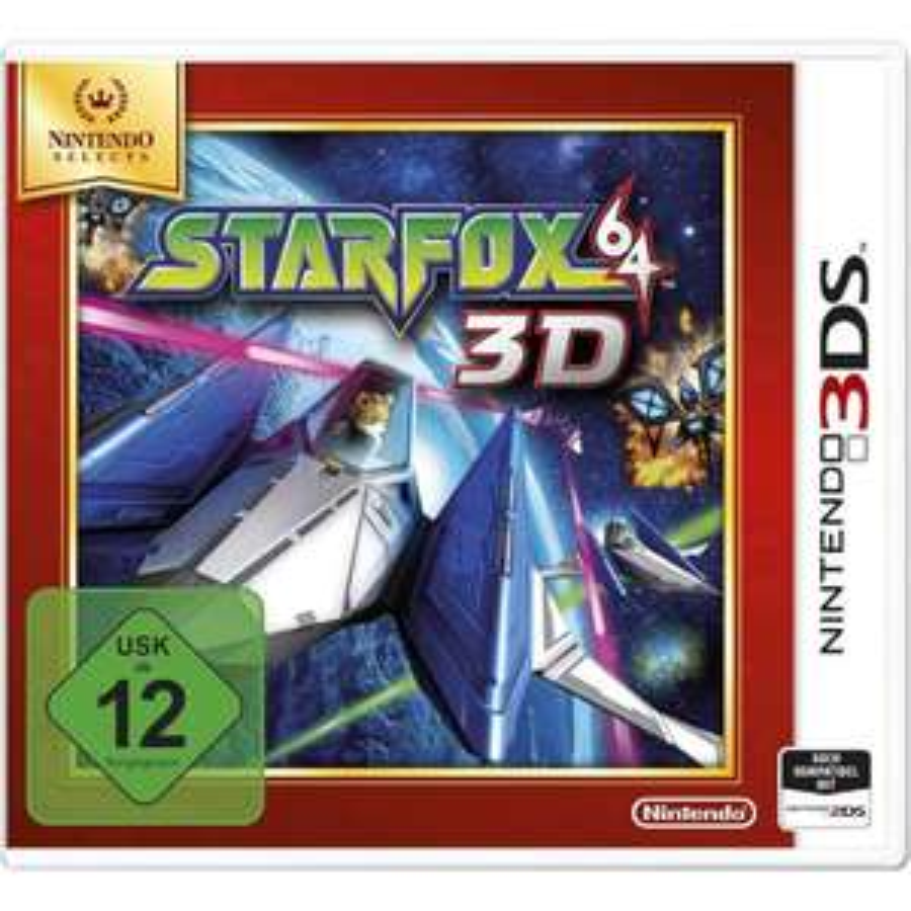 Nintendo 2DS/3DS - StarFox 64 3D (Nintendo Selects) ab €8,24 [@Conrad.de]