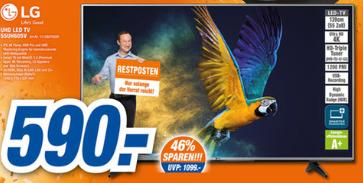 [lokal - Expert Jakob - Bayreuth, Hof] LG UHD LED-TV 55UH605V - Restposten