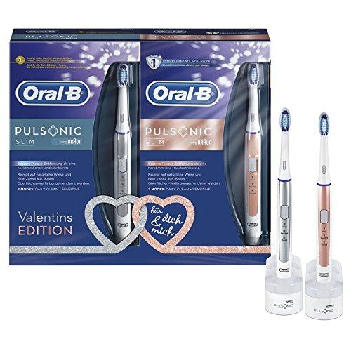 [Amazon] Oral-B Pulsonic Slim Schallzahnbürste Duopack (2 Stück) für 59,91€ statt 74€ dank 20% Gutschein