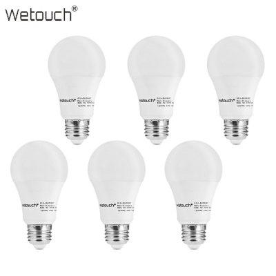 6er Pack Wetouch 9W (ersetzt 60W) LED Leuchtmittel / Lampe (E27, 800 Lumen) für 8,23€ [Gearbest]