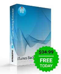 Giveaway of the day — 7thShare iTunes Backup Extractor 1.3.1