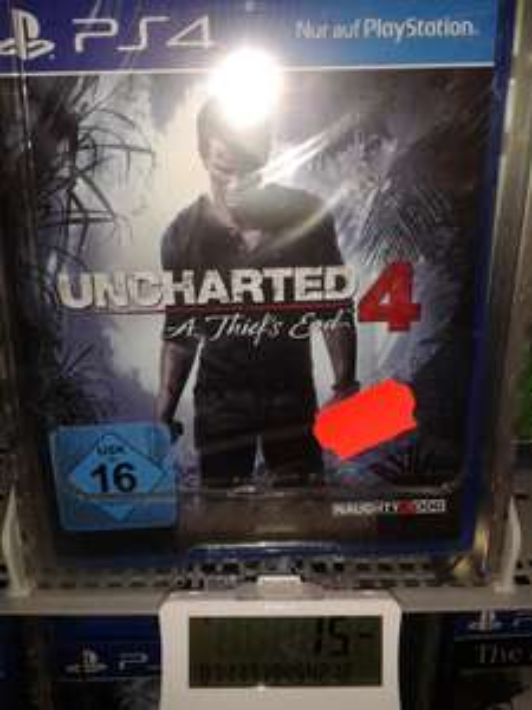 [Lokal Saturn Zwickau] Uncharted 4 - A Thief's End (PS4) für