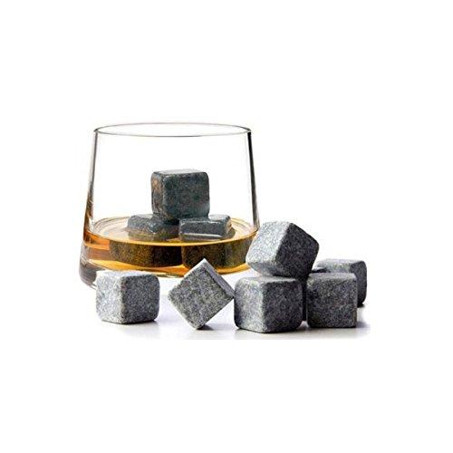 Amazon: 9er SET Whisky-Steine aus natürlichem Speckstein