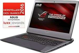 "ASUS ROG G752VY - i7-6700HQ, GTX 980M, 8GB DDR4, 1TB HDD, 2x M.2 NVMe, 17,3"" Full-HD IPS - 999€ @ ebay/notebook.de"