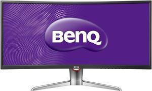 """BenQ XR3501 - 35""""- curved Monitor, 2560x1080, 4ms, VA-Panel, 100% sRGB, 144Hz, VESA, Höhenverstellung für 499€ bei ebay/Computeruniverse"""