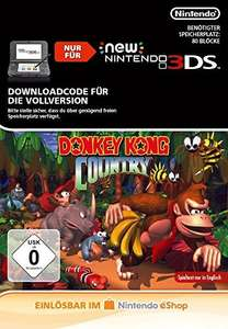 Donkey Kong Country - 3DS Download Code - Amazon