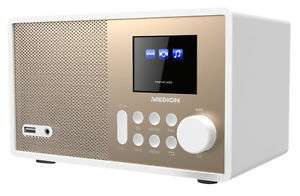 """@Ebay MEDION E85059 MD 87559 Wireless LAN WLAN Internet Radio 2,4"""" TFT Display weiß für 69,99€"""
