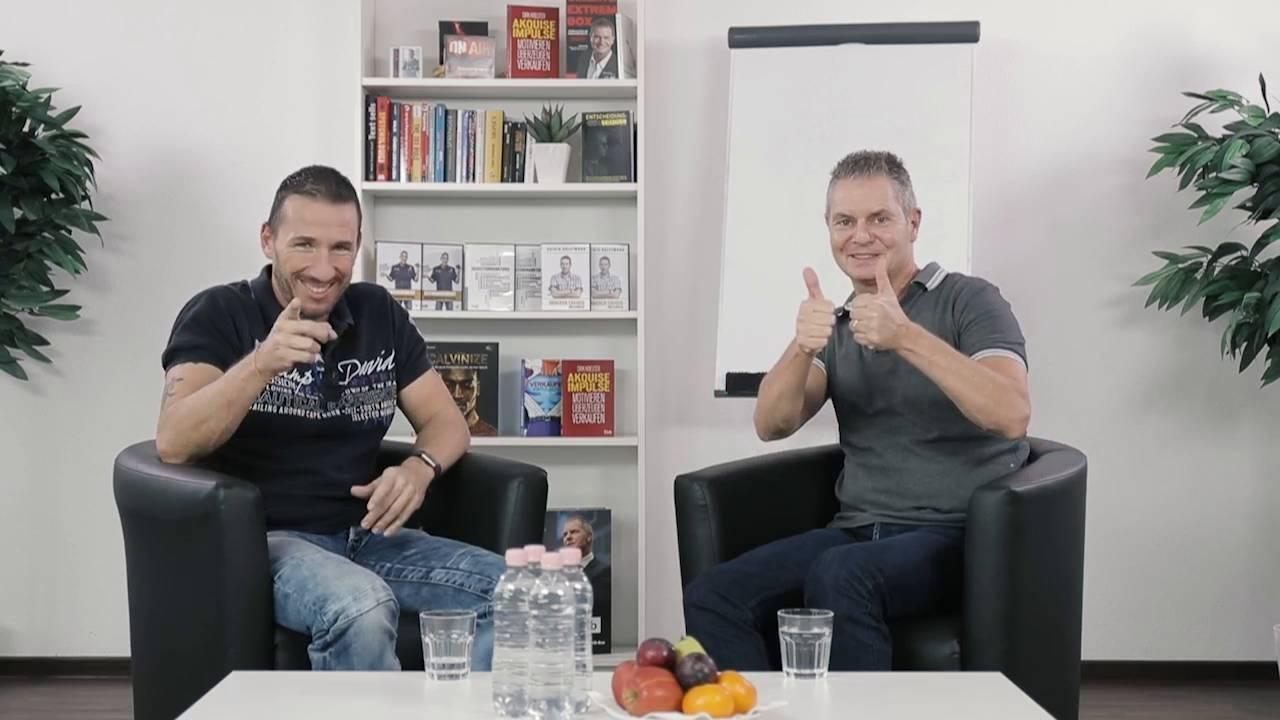 Dirk Kreuter und Calvin Hollywoods Kurs für Selbstständige