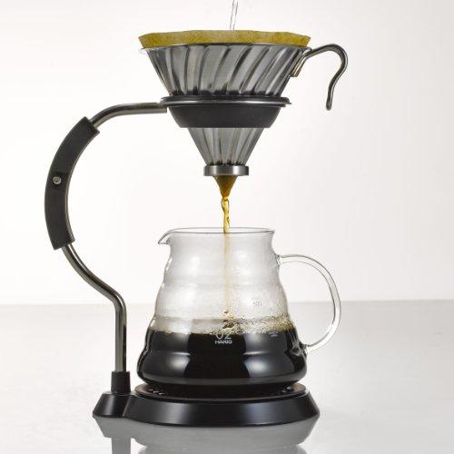 [Amazon] Hario V60 Kaffeefilter Set mit Filterhalter/Dripper, Armstand, Server und Filterpapier