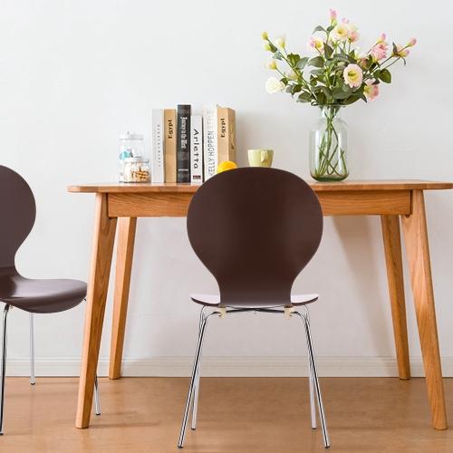 Stühle aus Birkenholz (2 Stück)
