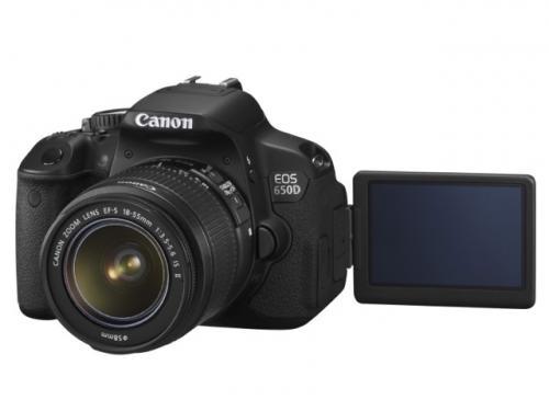 Canon EOS 650D + EF-S 18-55mm f/3,5-5,6 II IS ab 791€ @MeinPaket
