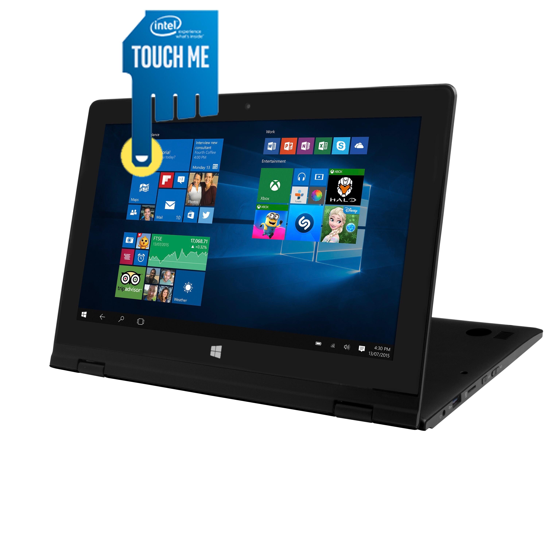 """[NBB] Point of View Twist 11601, 11,6"""" HD Display, Intel Quad-Core, 2GB RAM, 32GB Flash, Windows 10"""