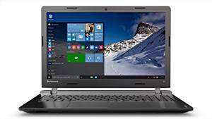 [Amazon WHD] Lenovo ideapad 100 39,62 cm (15,6 Zoll HD) Notebook (Intel Pentium N3540 Quad-Core Prozessor, 2,66 GHz, 8GB RAM, 1TB HDD, Intel HD Grafik, DVD-Brenner, kein Betriebssystem) schwarz