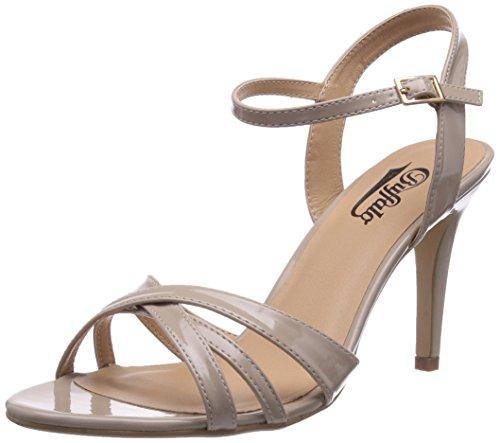 Buffalo Riemchen-Sandalen in Beige in vielen Größen mit aktuell 70% Rabatt !!!!