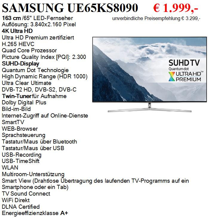 Samsung UE65KS8090
