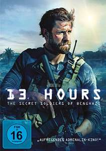 [Amazon Prime] 13 Hours - The Secret Soldiers of Benghazi (DVD)