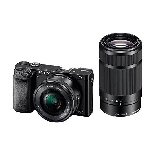 [Amazon.es] Sony A6000 Systemkamera mit 16-50mm und 55-210mm Objektiv für 743,07€ (Idealo: 829€)
