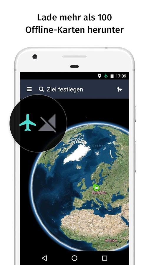 Kostenlose Offline Navigation // Weltweit // Android oder iOS