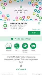 Play Store Meditation Studio