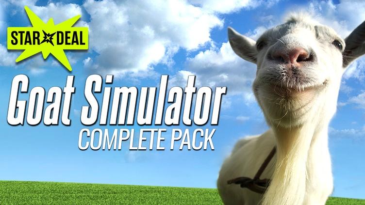 Goat Simulator - Complete Pack für 3,99€ [Bundle Stars] [Steam]