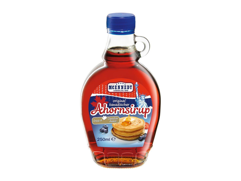 [LIDL] ab 23.03.2017 - McEnnedy Original kanadischer Ahornsirup 250 ml