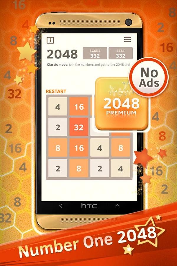 [PlayStore] 2048 Number Puzzle Premium - gratis statt 1,08€