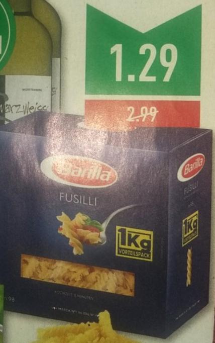 [Marktkauf-Rhein Ruhr] Barilla Pasta 1kg