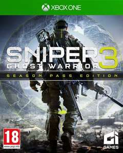 [GamesOnly.at] Sniper: Ghost Warrior 3 [Season Pass PEGI uncut Edition] (Xbox One) für 39,99€ + VSK