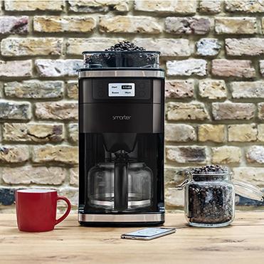 WiFi Kaffeemaschine Smarter Coffee mit Mahlwerk für nur noch 67 €