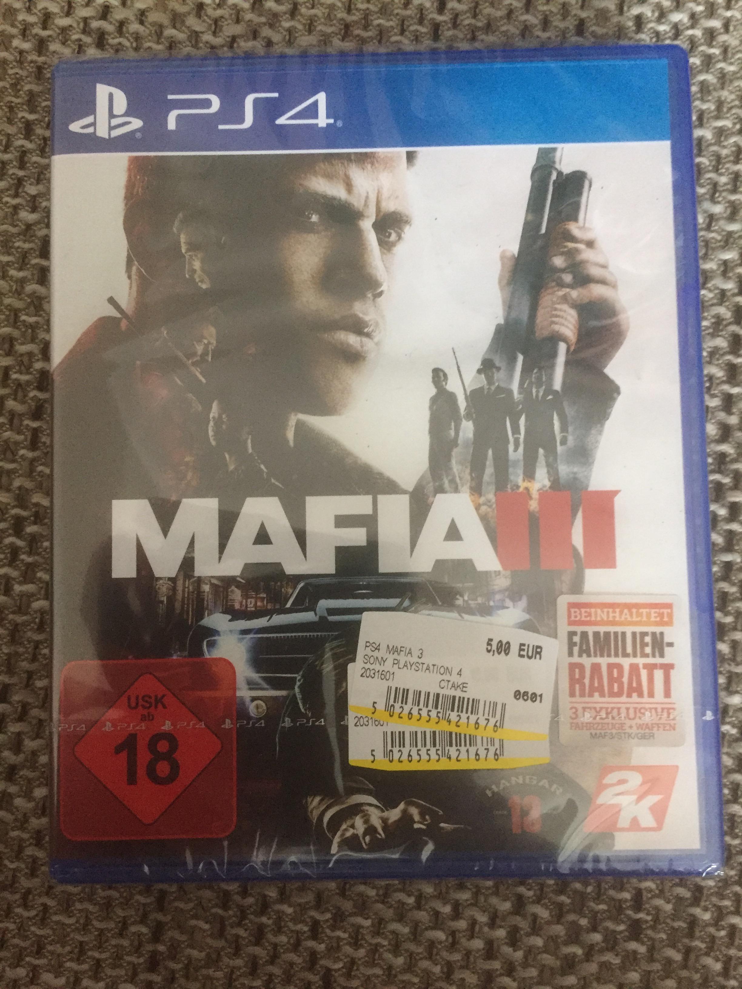 Lokal Berlin Mafia 3 Ps4 für nen Fünfer inklusive Familienrabatt DLC