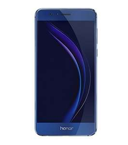 Honor 8 Smartphone (5,2 Zoll FullHD-Display, 32GB interner Speicher, 4GB RAM, Hisilicon Kirin 950, LTE Band 20, 12 MP Hauptkamera, 3D-Fingerabdrucksensor, Vollmetallgehäuse, Dual-SIM, MicroSD, QuickCharge, Android 7.0) in Blau [amazon.it]