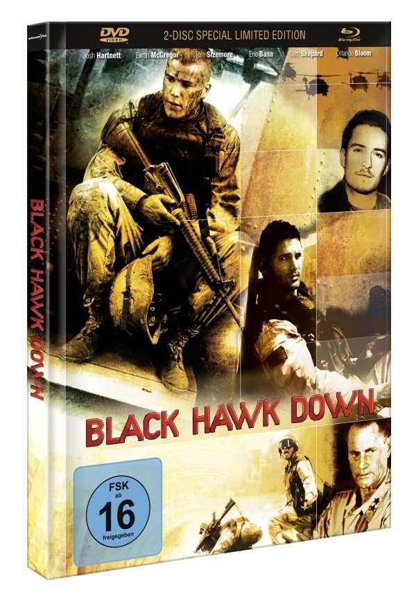 Black Hawk Down (Slim Mediabook Limited Special Edition) (Blu-Ray + DVD) für 9,99€ inkl. VSK (JPC)