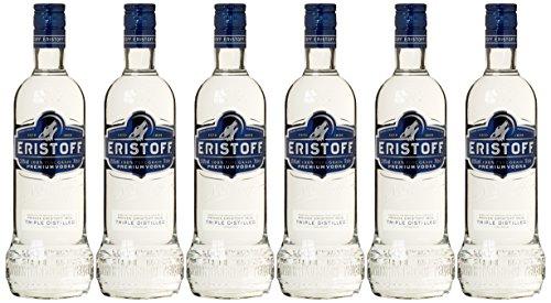 6x 0,7l Eristoff Vodka für 8,70€ + 9,90€ Versand (Preisfehler?) Amazon